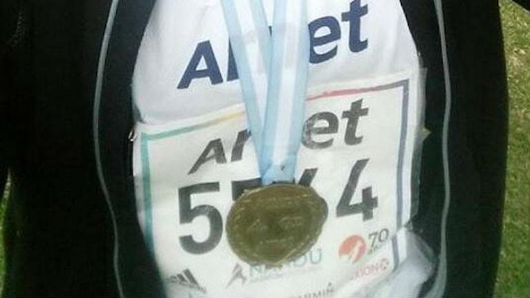 Medalj.