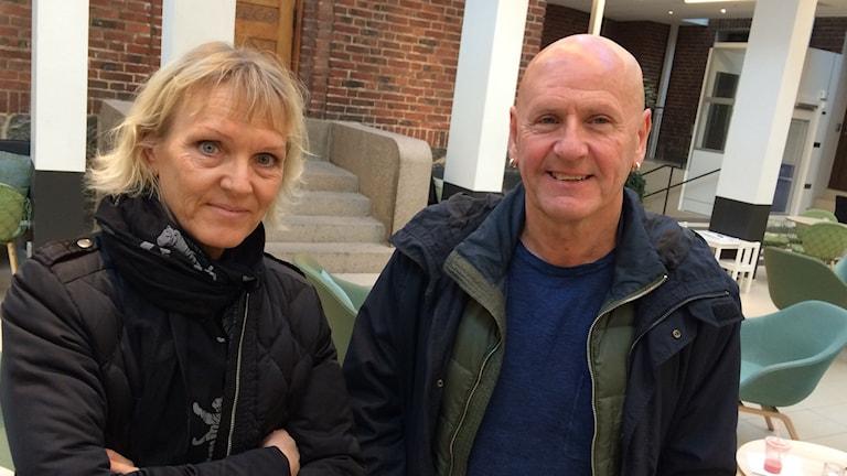 Kristina Ljungbeck och Bengt-Åke Kjell