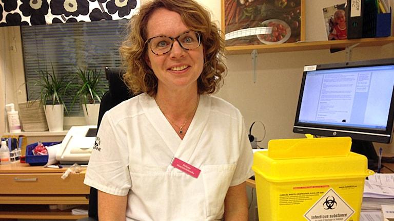 Helene Åkesson, distriktssköterska vårdcentralen Näsby