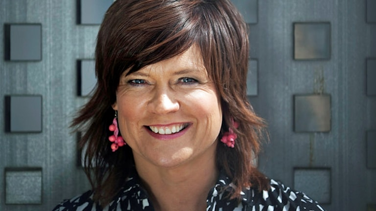 Programledaren och kulturjournalisten Ann-Marie Rauer Foto: SVT