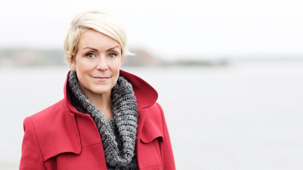 Karin Adelsköld, ståuppkomiker, programledare, och bloggare