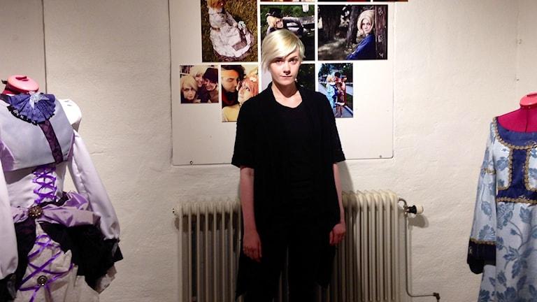 Linnea Thuresson ställer ut sina cosplaydräkter