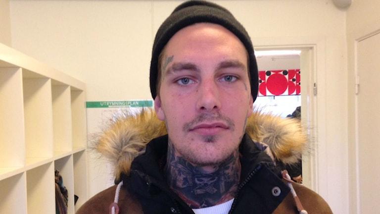 24-åriga Jens är positiv till nya mottagningar. Foto: Moa Lundgren/Sveriges Radio