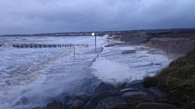 Stranden Ängelholm.