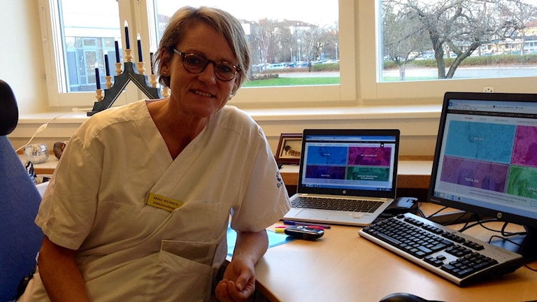 Anna Werner, infektionsläkare på CSK i Kristianstad.