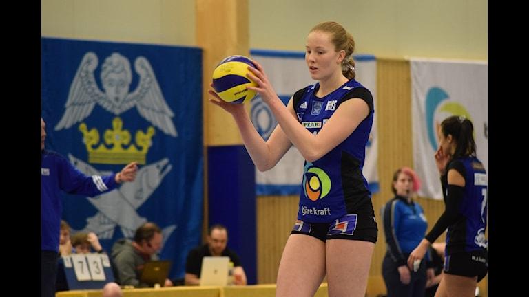 Isabelle Haak, EVS. 151213