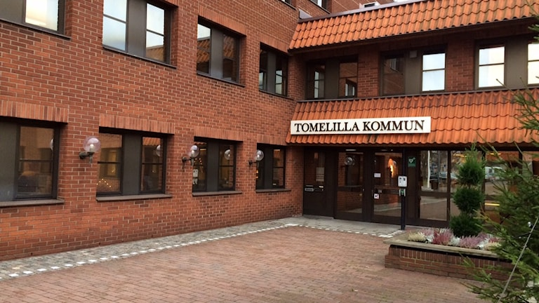 Tomelilla kommunhus. Foto: Malin Rimfors/Sveriges Radio