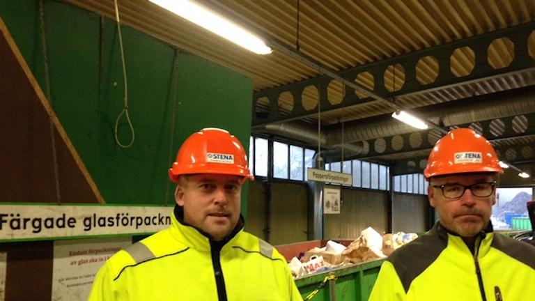 Joakim Nygren och Ricky Karlsson Foto: Moa Lundgren/Sveriges Radio