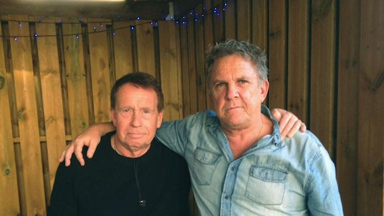 Jan Rosemar och Michael Magnusson Foto: Moa Lundgren/Sveriges Radio