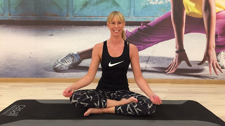 Yogainstruktör Sandra Krausz tycker att träningsformen har något för alla.