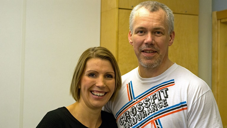 Vickie Peolin och Jonas Carlström