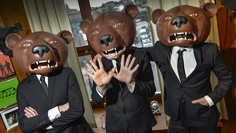 Teddybears. Foto Jonas Ekströmer/TT.