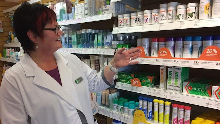 Ingela Persson, chef apoteket i Tollarp