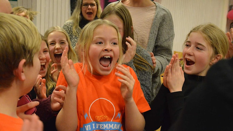 Rönnowskolan vann kvartsfinal 3