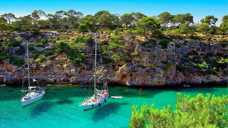 Lyxig segelbåtssemester