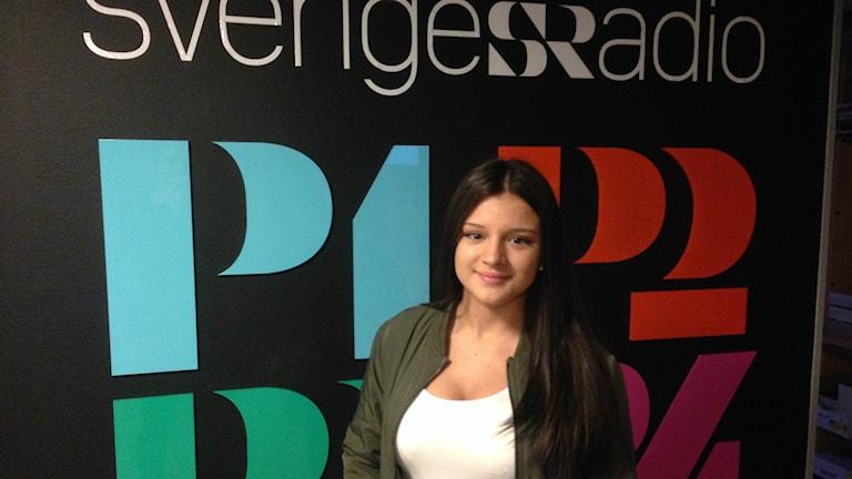 Alba Mars. Foto: Linnéa Mattisson/Sveriges Radio