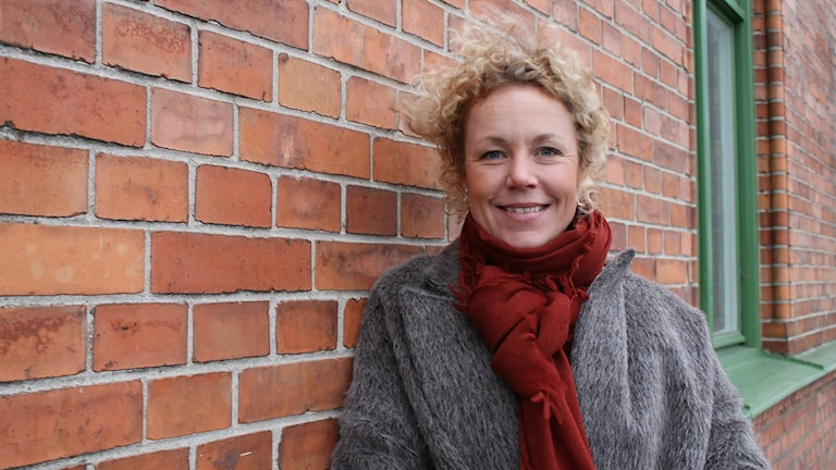 Daniella Witte, inredningsbloggare. Foto: Jenny Sandgren/Sveriges Radio.