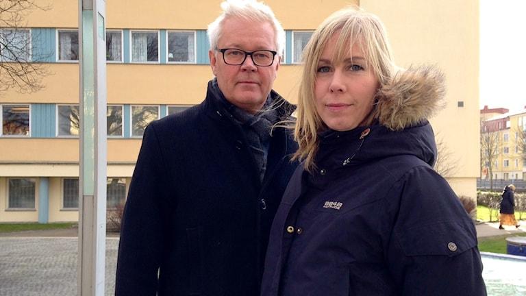 Göran Svensson och Maria Asklund