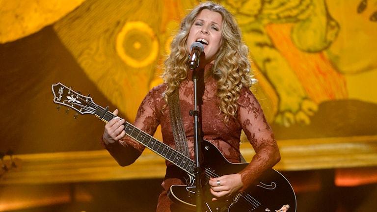 Pernilla Andersson i Mellodifestivalen 2016
