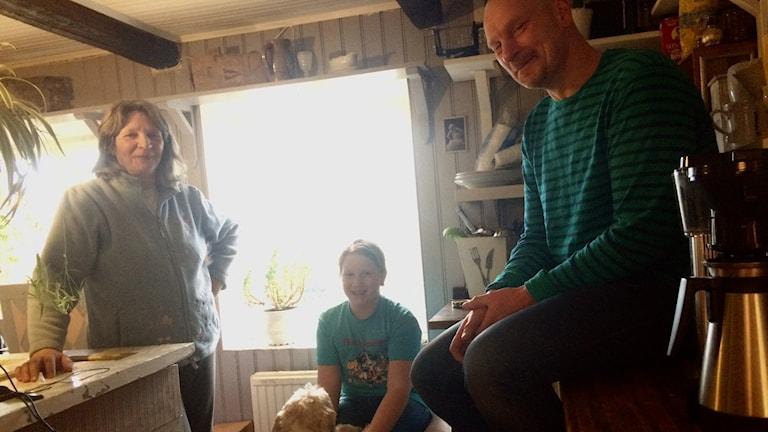 Anneli, Tilde, Misra och Richard.
