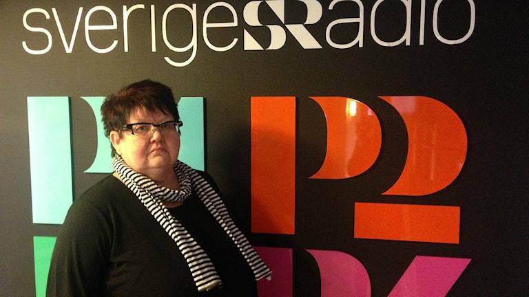 Pia Lena Olsson. Foto: Linnéa Mattisson/Sveriges Radio