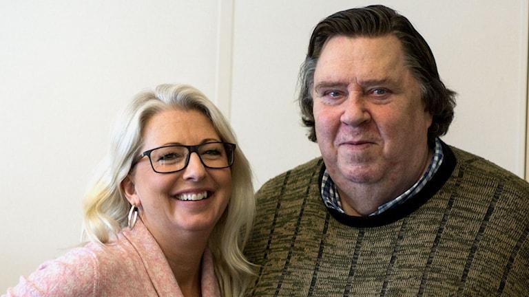 Helene Persson och Bertil Nilsson