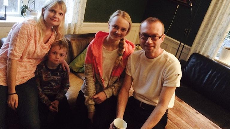 Familjen Fehne är full av festivalfantaster.