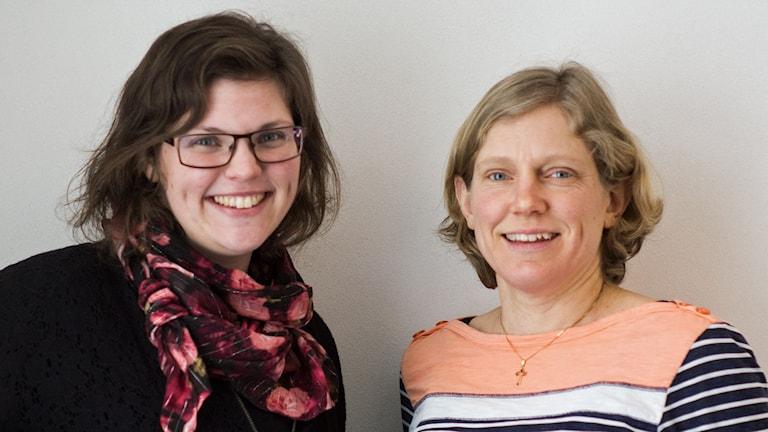 Malin Nilsson och Sara Engström