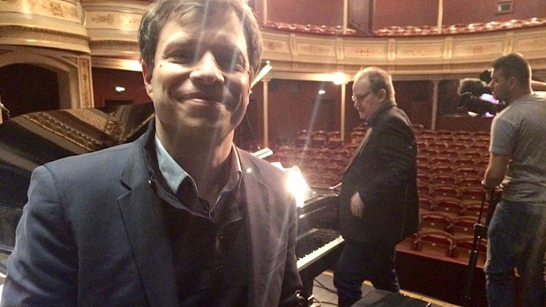 Philipp Amelung kom med idén till en Wallanderopera redan 2009. I år sätts den upp på Ystad teater. Foto: Malin Rimfors/Sveriges Radio