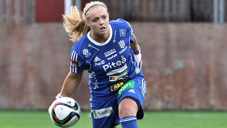 Hilda Carlén, Piteå IF.