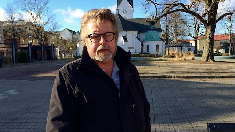 Thord Kristiansson, ordförande i Solidarisk Människohjälp