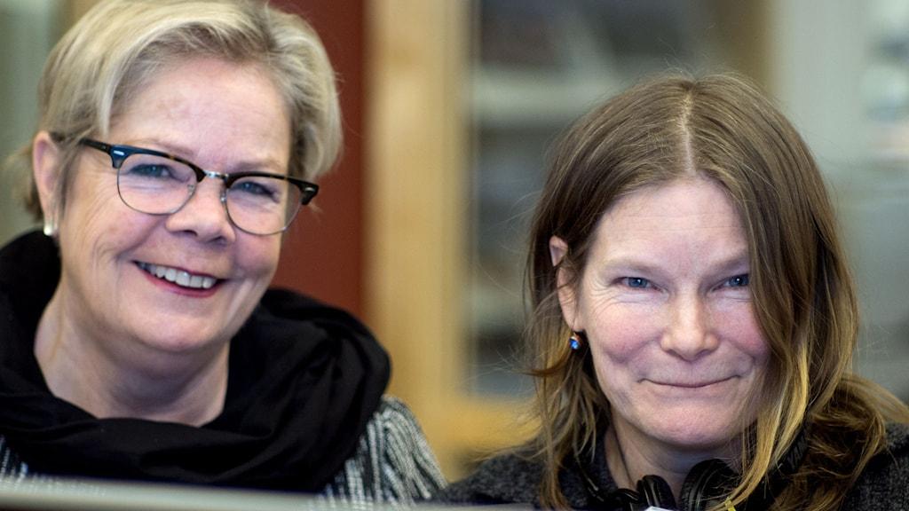 Bokklubben Birgitta Nebeling och Mia Dimblad