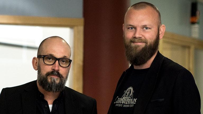 Sweden-Rock, Mats Natvig, vd och Martin Forsman, promotor
