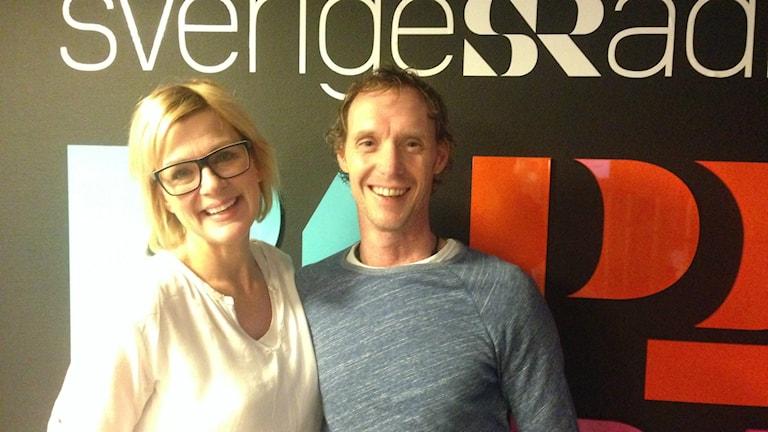 Jessica Persson och Conny Alfonsson var veckans Halv åtta hos oss-panel.