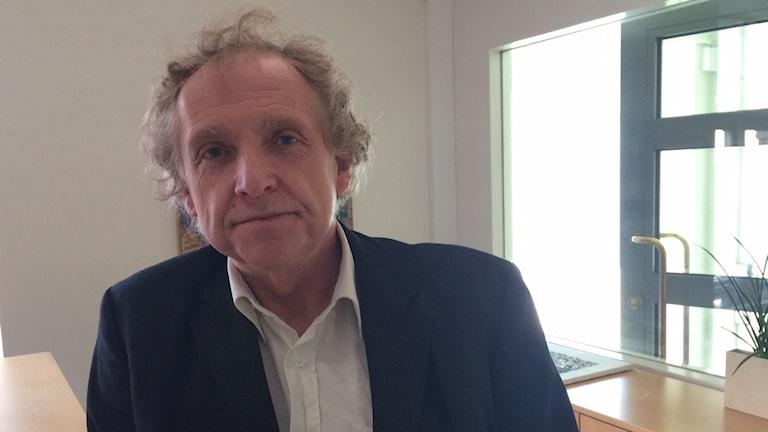 Christer Granqvist är ordförande i barn- och utbildningsnämnden i Simrishamn. Foto: Malin Rimfors/Sveriges Radio