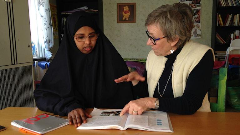 shukri Mohamed och susanne bergman på urbana hembygdsgården