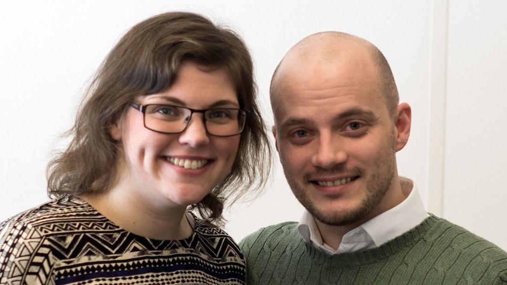 Malin Nilsson och Erik Ståhl