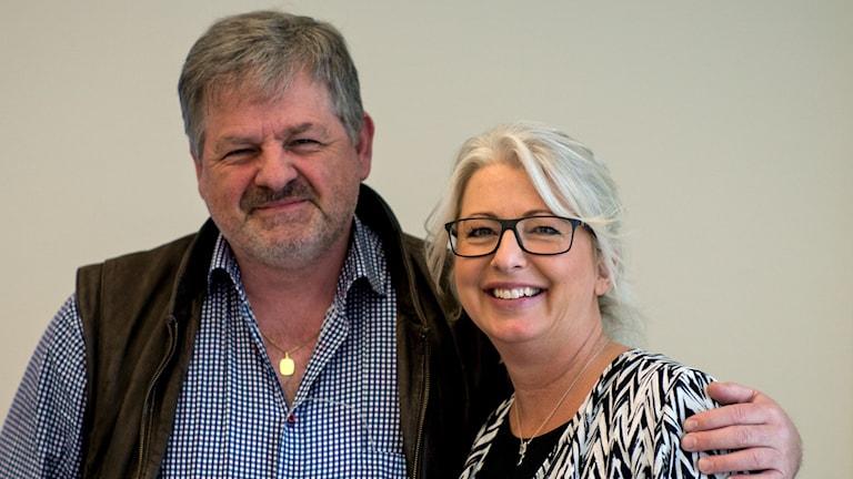 Bengt Nilsson och Helene Persson