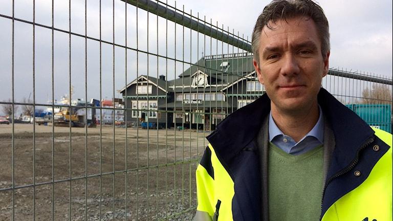 Carl von Strohkirch, affärschef på Midroc Foto: Gunilla Nordström/Sveriges Radio