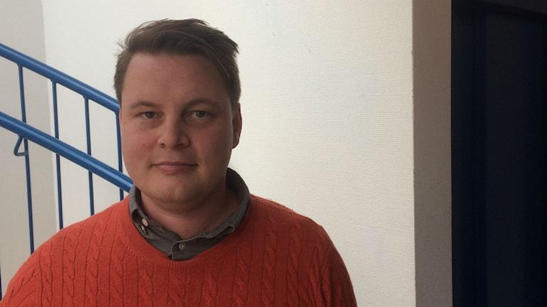 Christian Fahlén, psykolog,