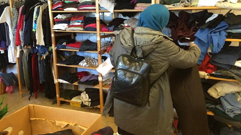 Vi köper i snitt 13 kilo nya kläder per person och år.