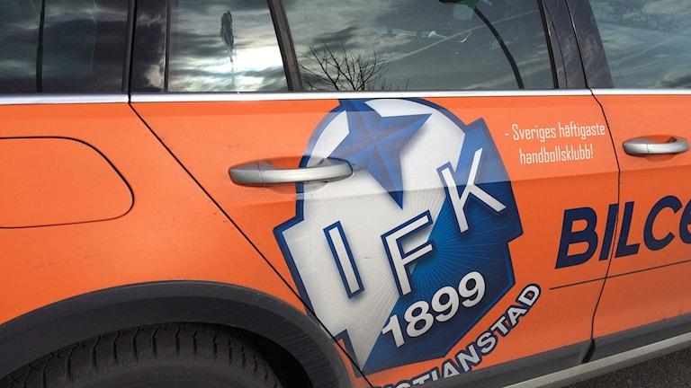 Näsby handboll på väg in i IFK Kristianstad.