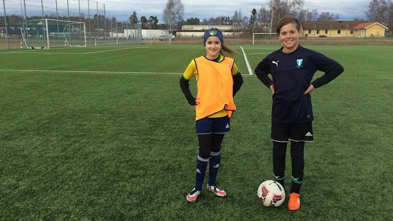Eilah Hartorp och Anton Johansson.