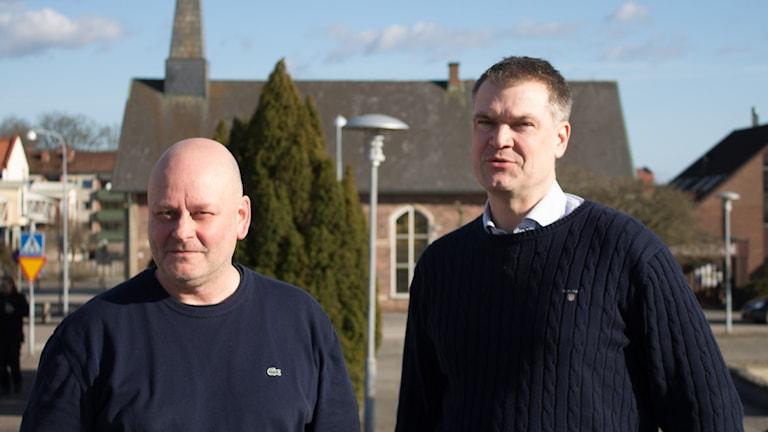 Pål Cederqvist och Roger Johansson, Osby kommun