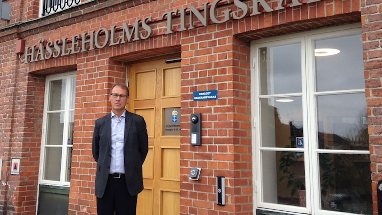 Bengt Olsson, lagman vid Hässleholms tingsrätt. Foto: Linda Evereus/Sveriges Radio