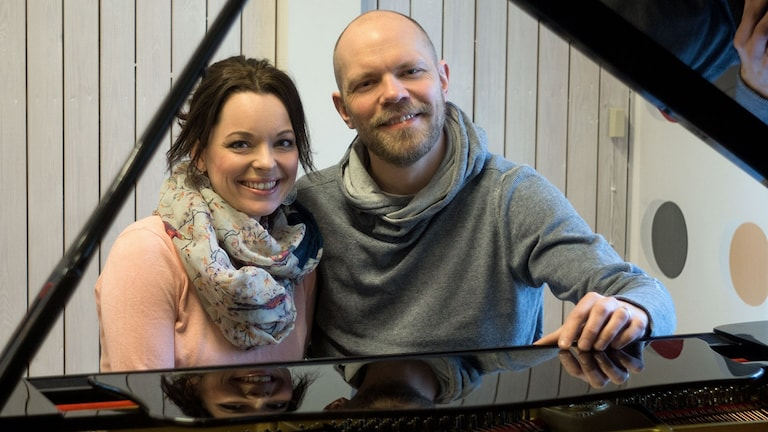 Paula Wright och Fredrik Silfverberg