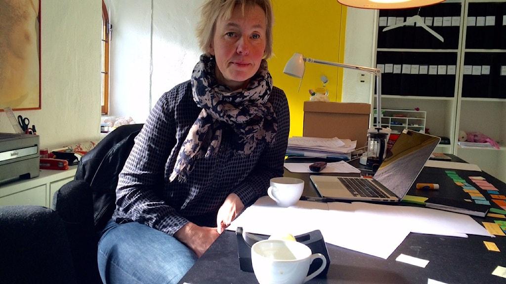 Jennifer Forsberg är rektor på Österlenskolan för konst och design.
