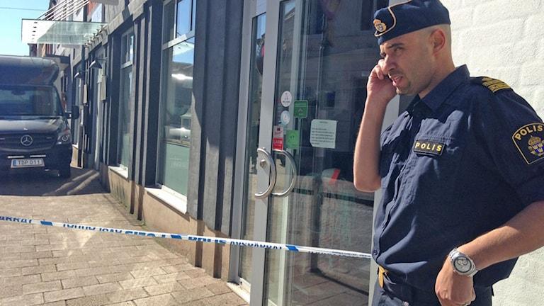 Närpolischefen Karim Ottosson