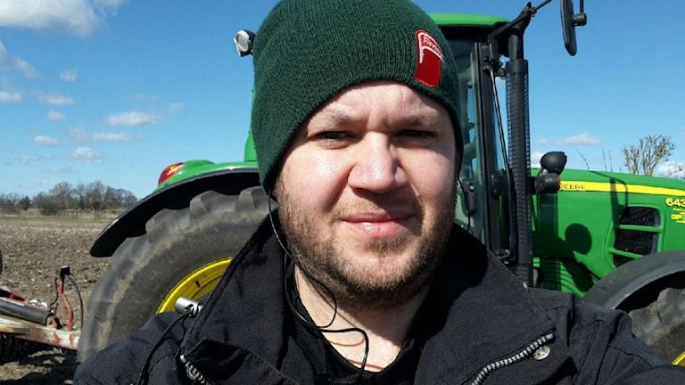 Lantbrukaren Per Persson satsar på spannmål och raps istället.