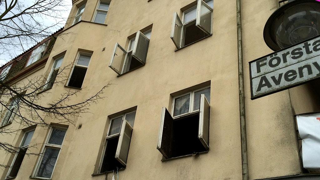 Brandens härjningar i Hässleholm
